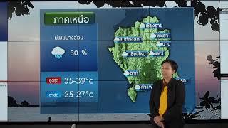 พยากรณ์อากาศวันที่ 21 กรกฎาคม 2562