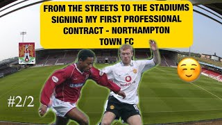 Signing My First Pro Football Contract, After Years Of Set Backs – How I Became A Pro Footballer