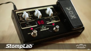 In The Studio: Freddy DeMarco And VOX StompLab Modeling Guitar Effect Processors
