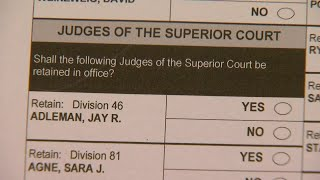 How to get more information about judges for the upcoming election