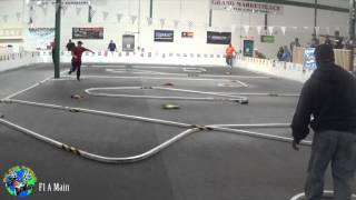 preview picture of video 'RC Car World - RMH Charity Race Dec. 14, 2014 F1 A Main'