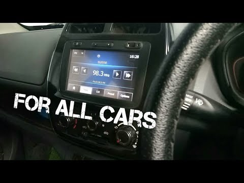 Touch screen multimedia Infotainment System for all cars