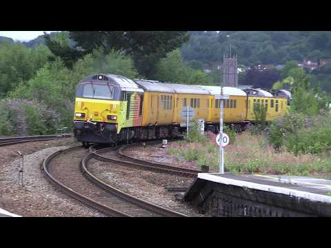 Colas Rail 67027 & 67023 at Newton Abbot and Teignmouth 30th…