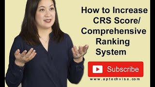 Canada CRS Score Improvement Tips Online