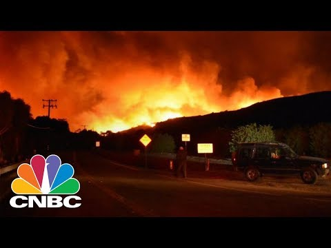 California's Thomas Fire Grows To Fifth Largest In State History As Celebrities Evacuate | CNBC
