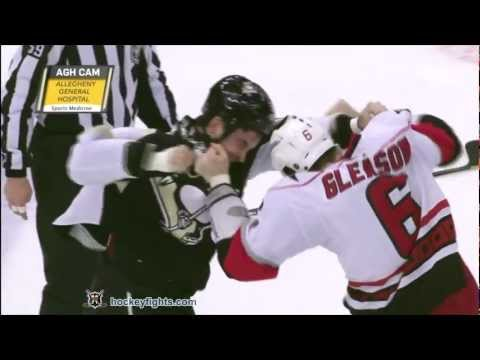 Tim Gleason vs Deryk Engelland