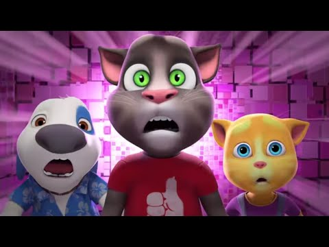 , title : '💥A DANGEROUS GAME - Talking Tom & Friends Special Feature Cartoon
