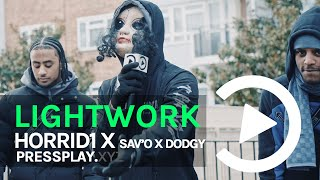 #CGM Horrid1 X Sav'O X Dodgy - Lightwork Freestyle | Prod By Ghosty | Pressplay