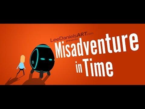 """hqdefault - """"Misadventure in Time"""", un breve corto de animacion sobre los problemas de viajar en el tiempo"""