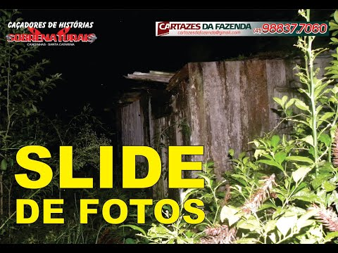 SLIDE DE FOTOS - RANCHO ABANDONADO