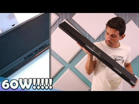 Una barra de sonido de 60W para tu TV, MÓVIL... con 6 altavoces ¿Suficiente?