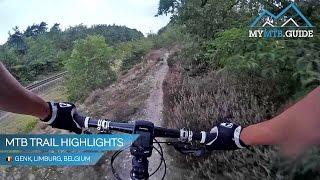 preview picture of video 'Officiële MTB route Genk (BE) - Hoogtepunten'