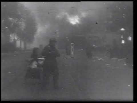 Rotterdammers op drift na het bombardement