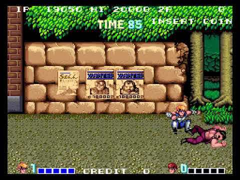 [TAS] Arcade Double Dragon by Sugarfoot in 06:44,34
