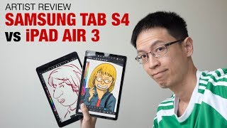 Samsung Tab S4 vs iPad Air 3 (Artist Comparison)
