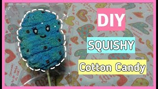 Cara Membuat Squishy Cotton Candy Slow!