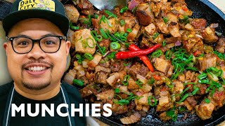 Lechon Kawali Sisig from Señor Sisig by Munchies