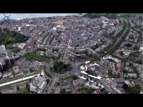 Intocht 96ste Nijmeegse Vierdaagse Luchtvideo