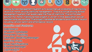 Driving School Management System By VB.NET