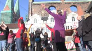 preview picture of video 'One Billion Rising, Lübeck 2015'