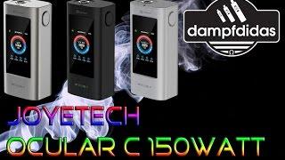Joyetech Ocular C 150 Watt Touchscreen MP3 Akkuträger nur Telefonieren fehlt xD Review Deutsch