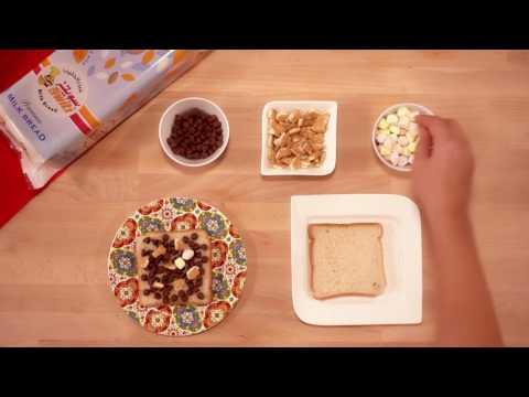 Milk Bread S'mores |  سمورز خبز الحليب