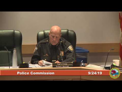Police Commission 9.24.2019