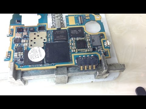samsung galaxy s4 dead fix by changing power ic hd