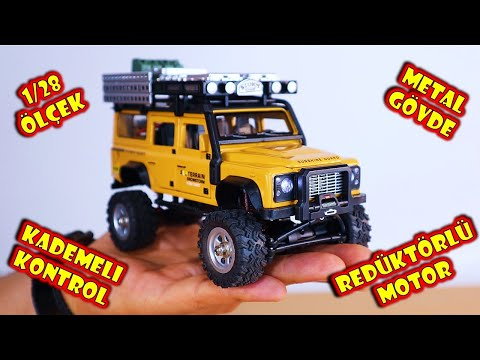 Land Rover Defender RC ARABA Aldım! - SG 2801 RC Crawler
