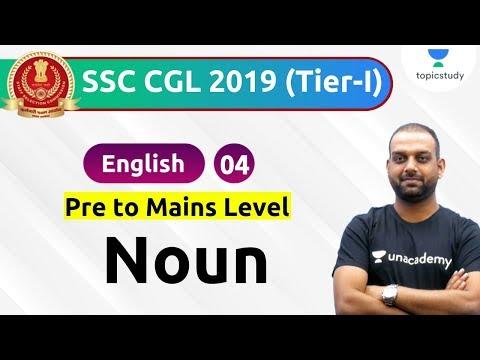 5:00 PM - SSC CGL 2019 | English by Ashutosh Sir | Noun