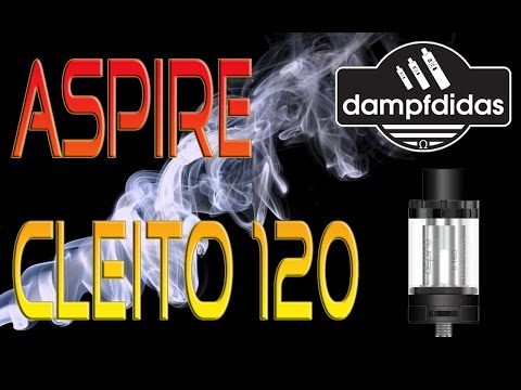 YouTube Video zu Aspire Cleito 120 Verdampfer 4 ml