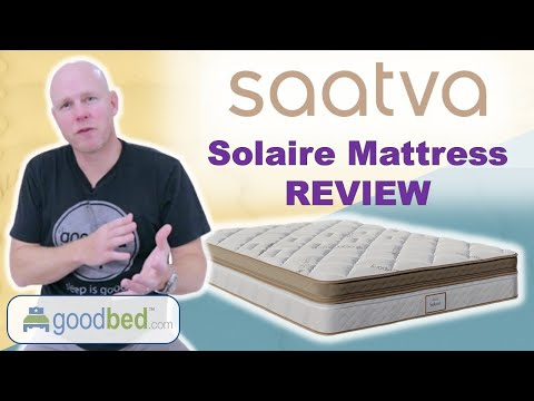 Solaire Mattress Review VIDEO