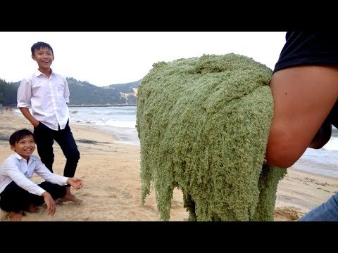 DIY GIANT KINETIC SAND On The Beach (FUN & EASY)