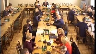 Grzegorz Braun na Komisji Polityki Społecznej i Rodziny