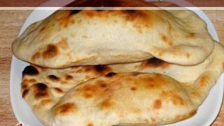 Naan Bread Recipe by Manjula  Indian Vegetarian Gourmet