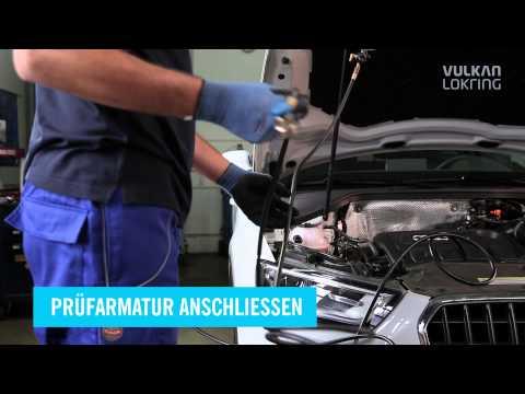 VULKAN LOKRING   LOKTRACE Spurengas Lecksuche an Fahrzeug Klimaanlagen 1080p