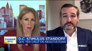 Texas senator Ted Cruz details his Thursday phone call with President Donald Trump on stimulus