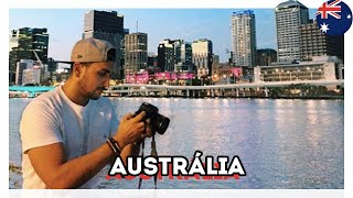 CHEGUEI NA AUSTRÁLIA - MEU INTERCÂMBIO EM BRISBANE - Estevam Pelo Mundo