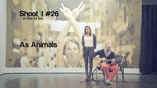 "As Animals ""I See Ghost (Ghost Gunfighters)""  (Galerie Houg session) Shoot it #26"