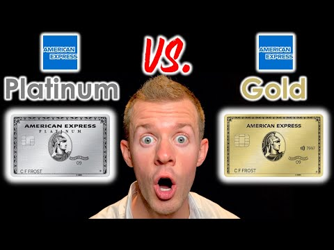 AMEX GOLD VS. PLATINUM (Amex Platinum Card Benefits | Amex Gold Card Review)