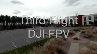 DJI FPV - Third Flight in Indian Land, SC