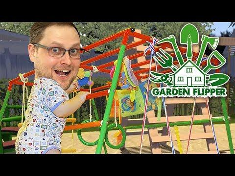 ДЕТСКАЯ ПЛОЩАДКА ► Garden Flipper #2