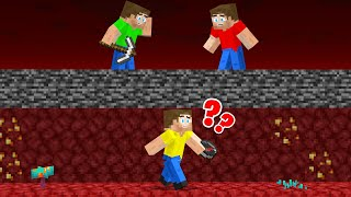 Playing Hide And Seek In The Nether! (Minecraft)