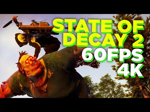 State of Decay 2: 20 Minutes of Missions | Xbox One X 4K Gameplay