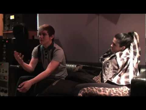 "Behind the Scenes Part 3: The Pinz ""Most of All"" (full song) with Chris Testa on April 3, 2012 HD"