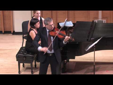 Martin Stoner, violin Nellie Seng, piano Fritz Kreisler: Praeludium & Allegro for violin & piano