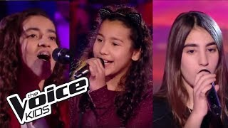 """Sahna / Betyssam / Tiny - """"This one's for you""""   The Voice Kids France 2017   Battle"""