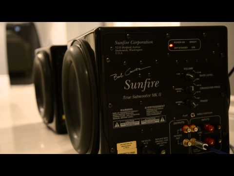 Sunfire True Subwoofer MK II Bass Test