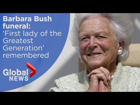 Barbara Bush funeral: FULL memorial for former first lady
