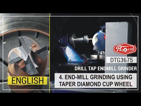 Drill Tap End Mill Resharpening Machine